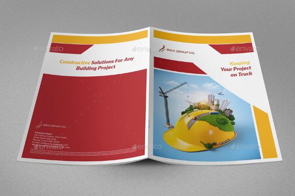 Construction Company Brochures Bundles