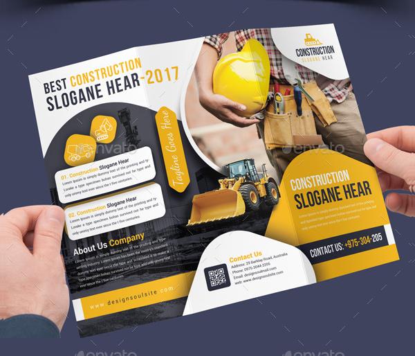 17 Free Construction Company Brochures