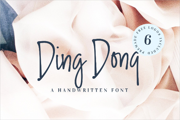 Ding Dong Fancy Fonts