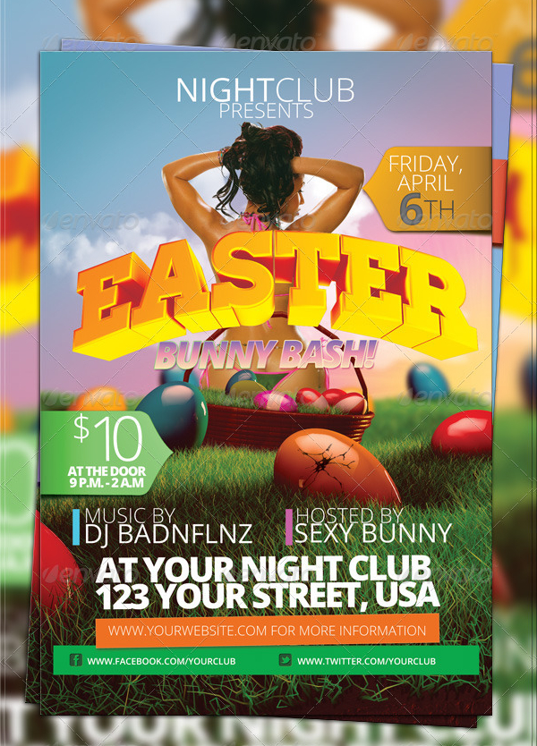 Easter Flyer Templates  Free  Premium Download