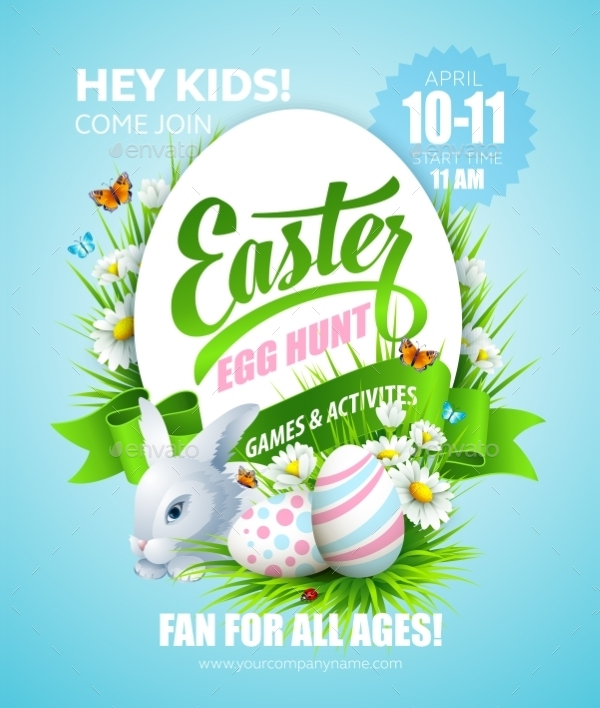 22  easter poster templates