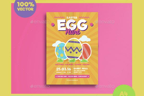 Easter Festival Flyer Template