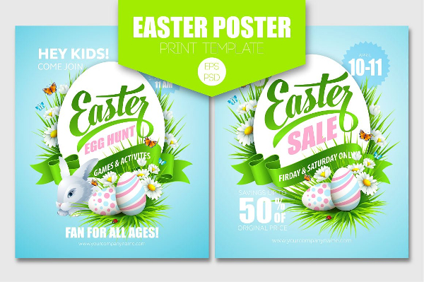 22+ Easter Poster Templates - Free PSD, Vector EPS Format Downloads
