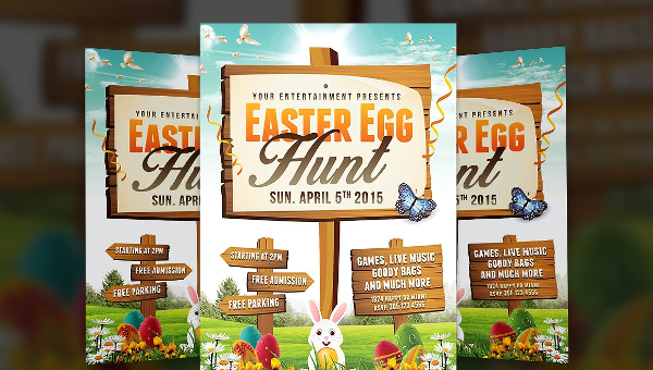 22 Easter Flyer Templates Free Premium Psd Illustrator Downloads
