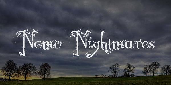 Free Nemo Nightmares Fancy Fonts