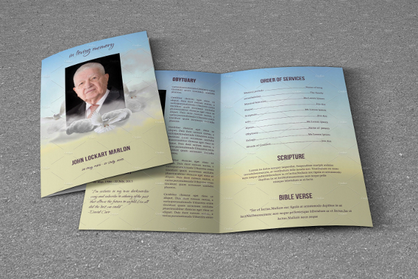 Funeral Services Brochure  Free  Premium Download