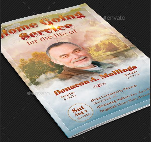 Funeral Services Program Brochure