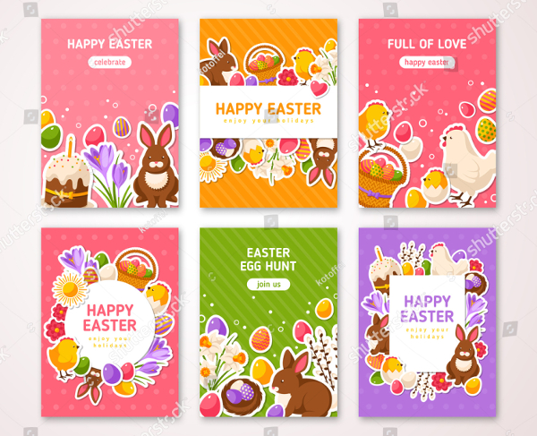 Happy Easter Poster And Flyer Template