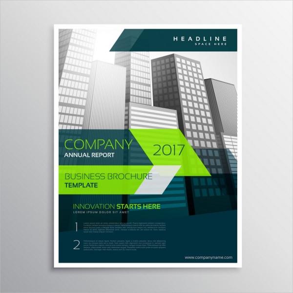 Construction Free Vector Modern Brochure Templates