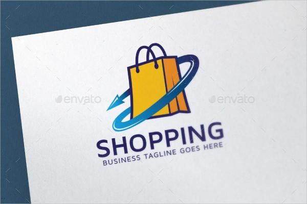 Modern Shopping Logo Template