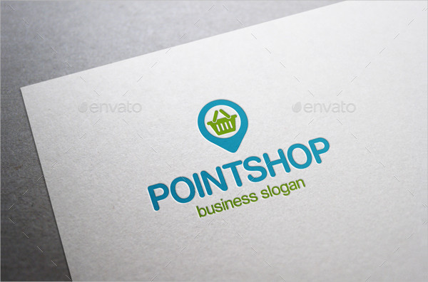 Point Shop Business Logo Template
