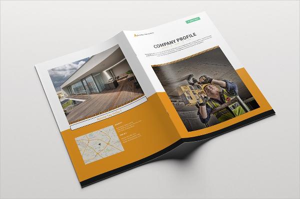 ProfessionalConstruction CompanyBrochure Template