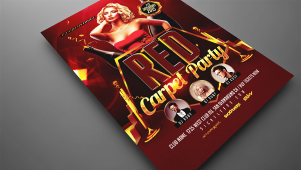 17 red carpet flyer templates free premium photoshop ai downloads