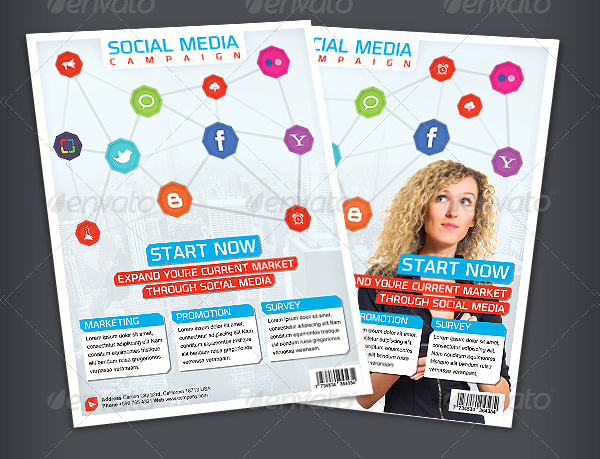 Simple Social Media Bundle Flyer