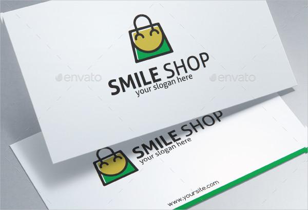 Smile Shop Logo Design