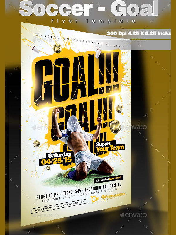 22 soccer flyer templates free premium download soccer goal flyer template pronofoot35fo Gallery
