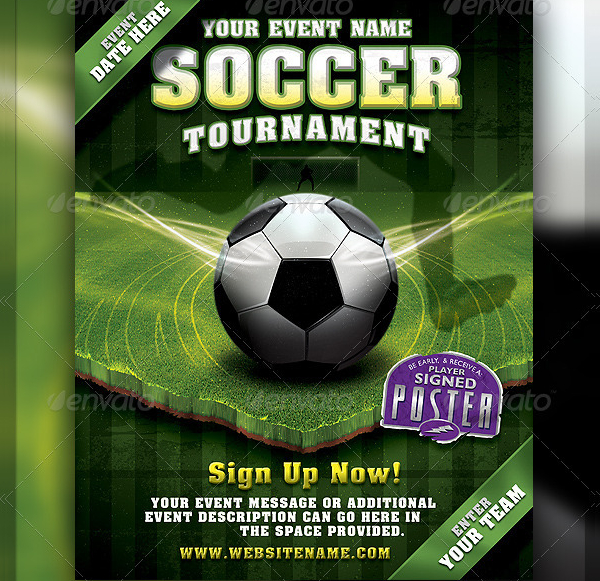 22  soccer flyer templates