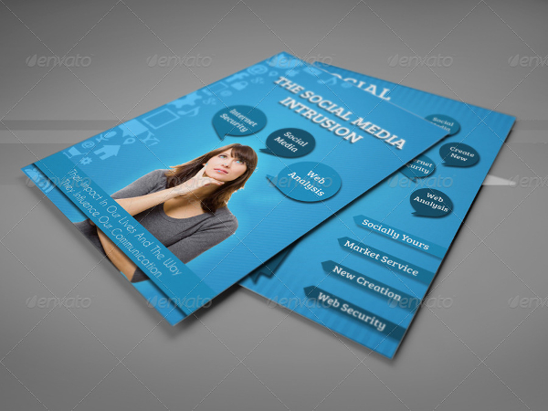 Social Media Design Flyer Template