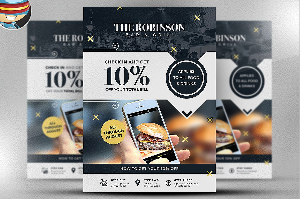 Social Media Discount Flyer Templates