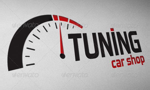 Full Editable & Scalable Logo for Car Shop