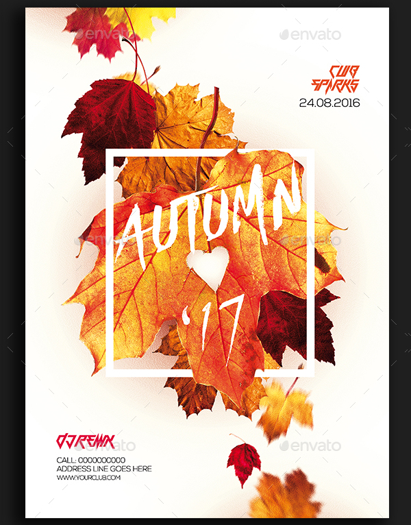 19+ Autumn Party Flyer Templates - Free PSD EPS Illustrator Downloads
