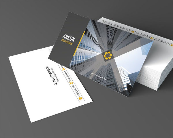 24+ Architect Business Card Templates - Free & Premium Download