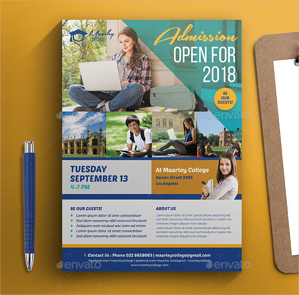 22 Education Flyer Templates Free