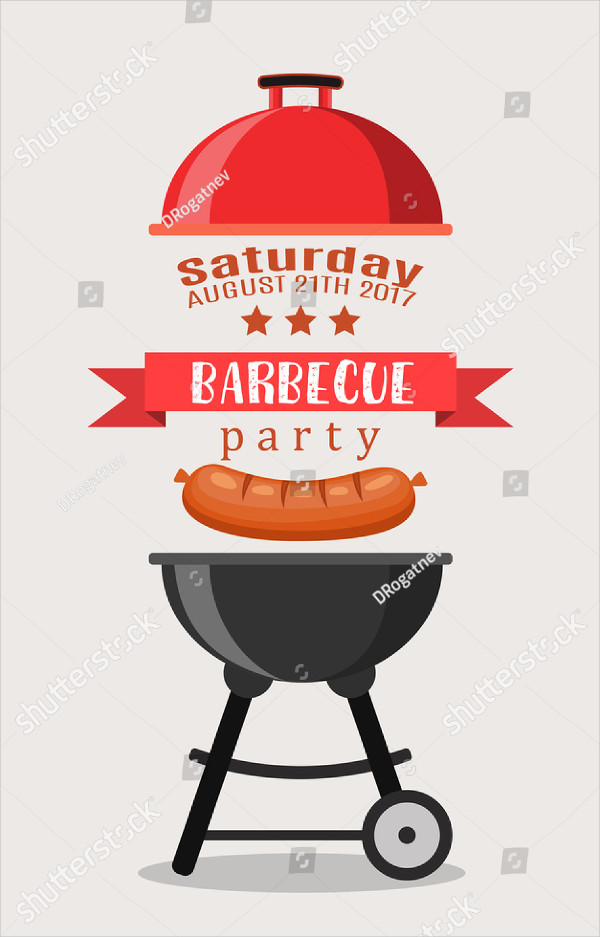20  bbq party invitation templates