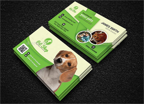 Pet & Animal Business Card Templates