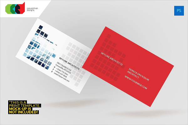 Architect-Engineer Business Card Template