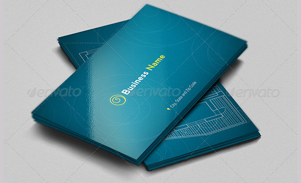Architecture Minimal Business Card Template
