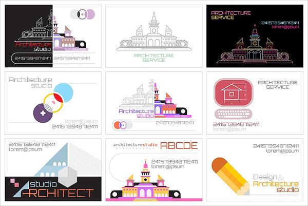 Architecture Studio Business Cards