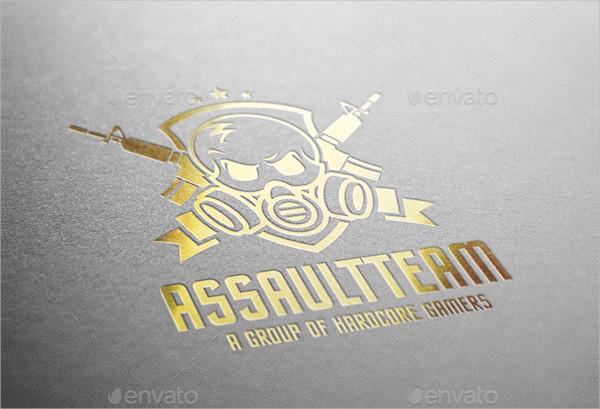 Assault Team Work Logo Template