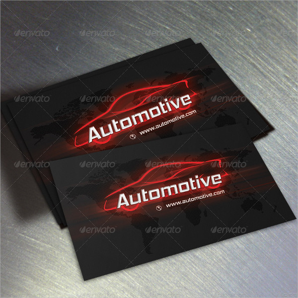 18 automotive business card free psd eps illustrator downloads automotive personal business card template flashek Image collections