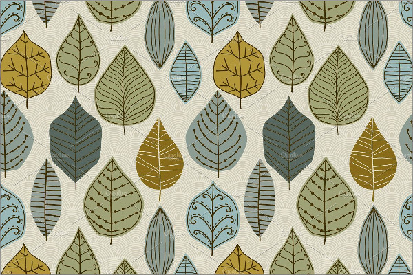 Autumn Leaf Pattern Set