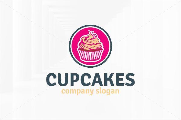 Best Cupcake Design Logo Template
