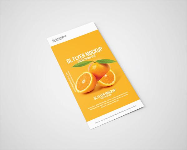 Best DL Flyer Mockup Design