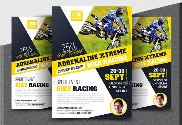 21 bike racing flyer templates psd vector eps format downloads