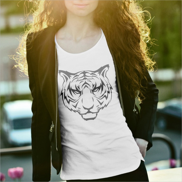Free Download T-shirt mockup Design