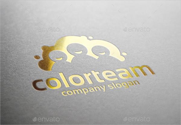 Color Team Logo Template
