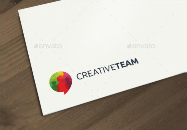 Creative Team Logo Template