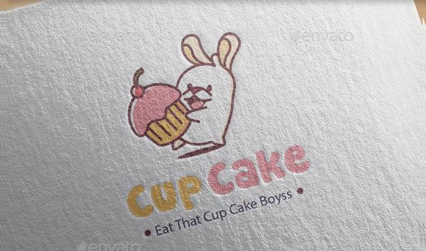 Cupcake Design Logo Template