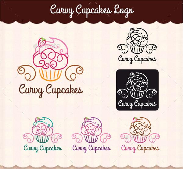 Curvy Cupcakes Logo