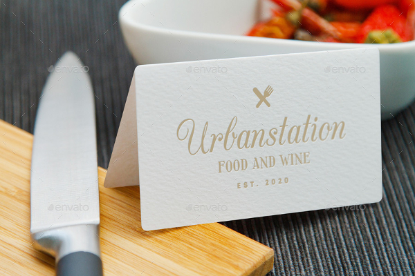 Delicious Cook Logo Mockups
