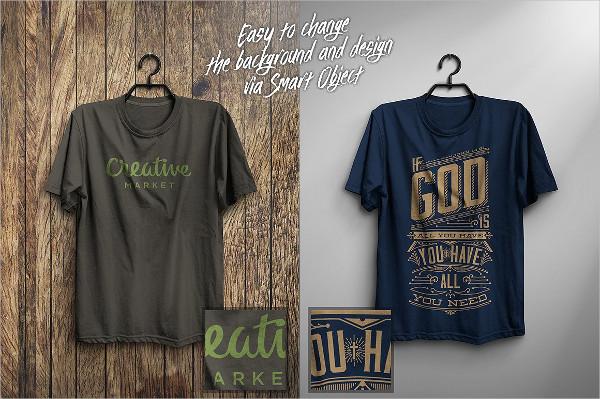 Realistic T-Shirt Mock-Up Design