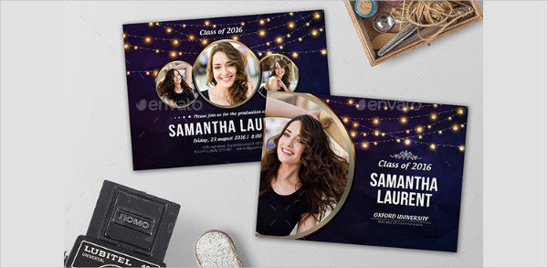 Best Graduation Celebration Invitation Design Template