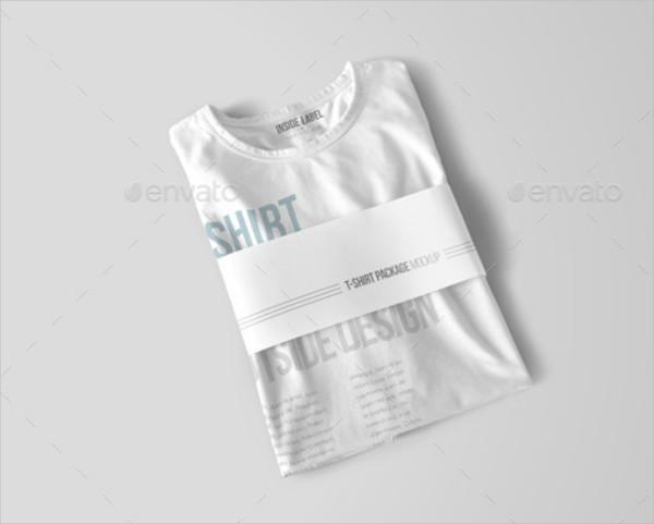 Branding Display T-Shirt Mockup