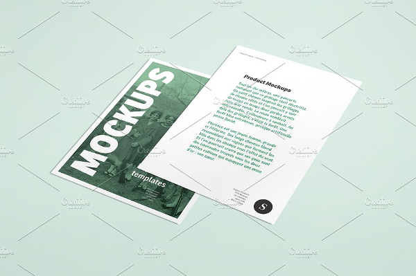Easy Flyer Display Mockup