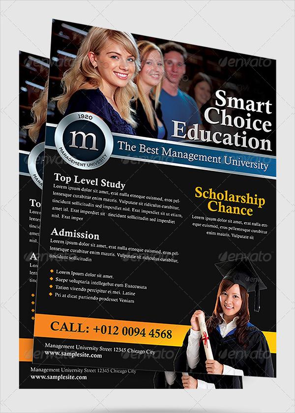 Education Design Flyer Template