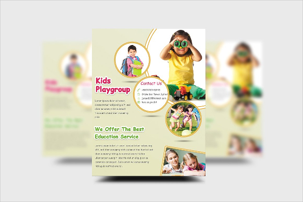 Education Event Flyer Template